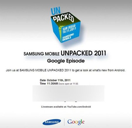 Samsung Mobile Unpacked 2011 Google Episode