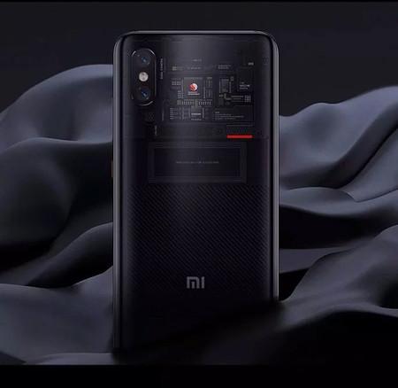 Xiaomi Mi 8 Pro Trasera