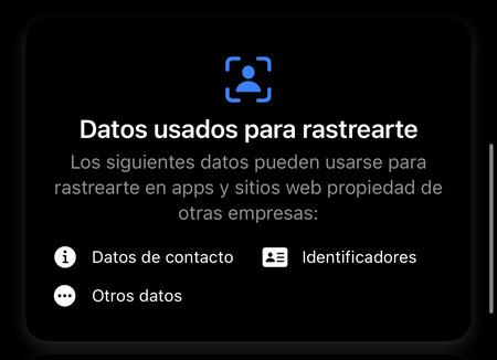Así puedes saber los datos que usan las apps para rastrearte desde App Store