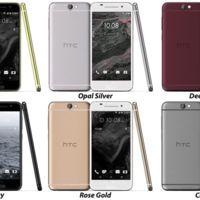 Estas serían las especificaciones del nuevo HTC One A9