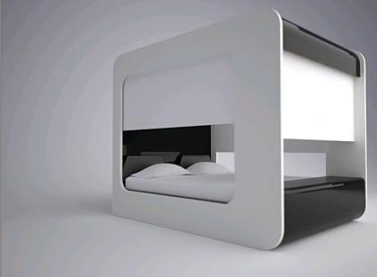 Edoardo Carlino: más sobre la cama multimedia
