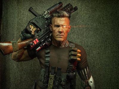 ¡Así es Cable! Primeras imágenes de Josh Brolin como el cyborg cazarrecompensas en 'Deadpool 2'