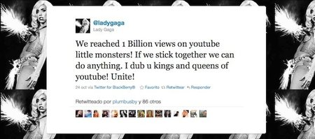 ¡Dios salve a la Reina! Y YouTube a Lady Gaga