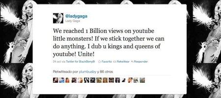 ¡Dios salve a la Reina! Y YouTube a Lady Gaga