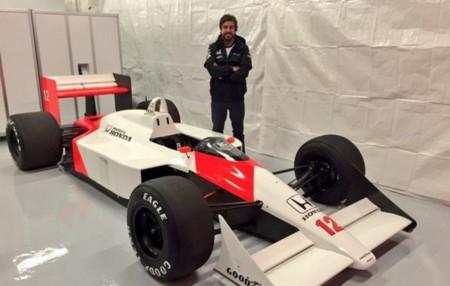Fernando Alonso Mclaren Mp4 4