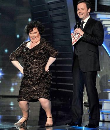 Susan Boyle vuelve a triunfar en el 'Britain's Got Talent'