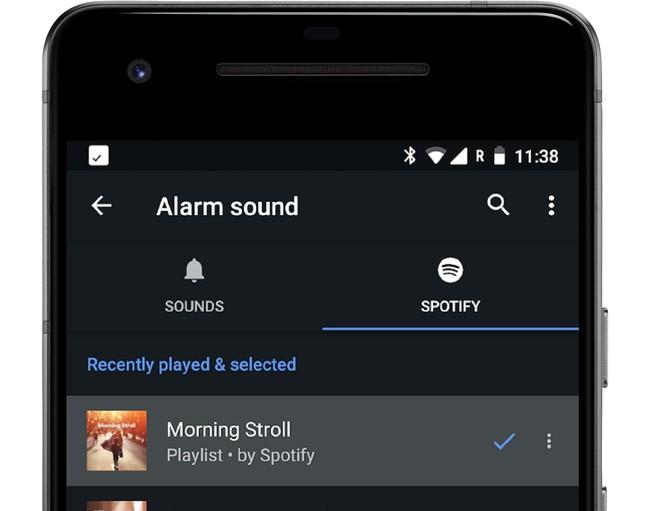 Cómo usar una canción de Spotify como sonido de alarma en Android