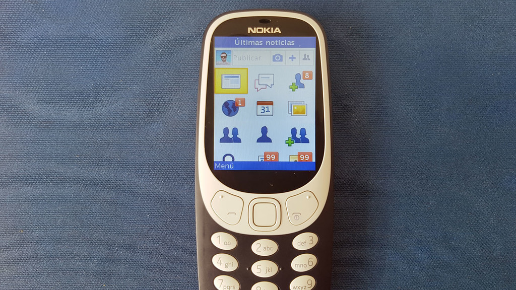 Facebook dos Nokia 3310