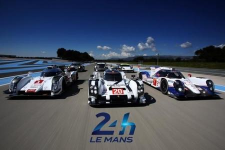 Audi, Toyota, Porsche Le Mans 2014
