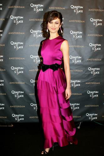 Olga Kurylenko en la premiere de Quantum of Solace en Amsterdam
