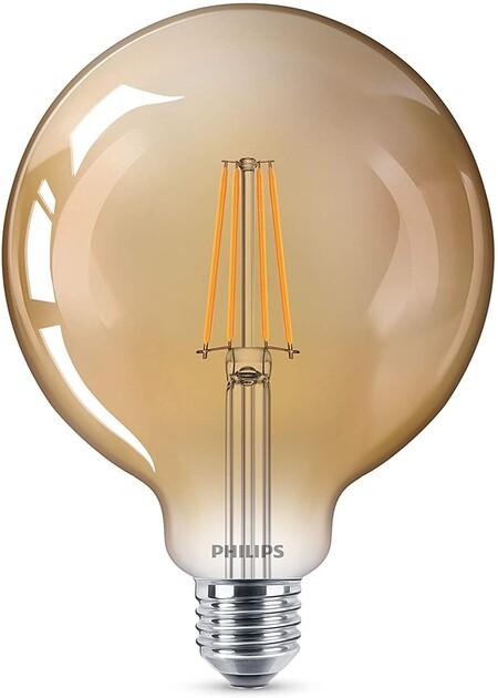 Philips LED bombilla forma globo