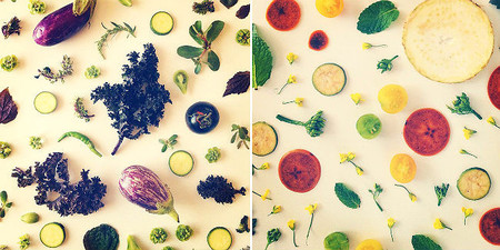 Collages culinarios de Julie
