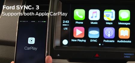 Ford empezará a soportar el sistema Apple CarPlay en todos sus coches modelo 2017