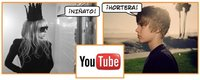 Lady Gaga y Justin Bieber: duelo en YouTube
