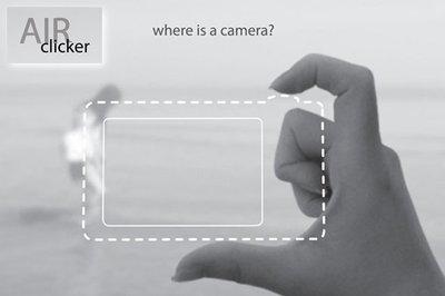Air Clicker: ¿Una cámara con dos dedos? Sí, es posible.