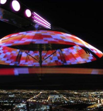 Terror en el cielo de Las Vegas