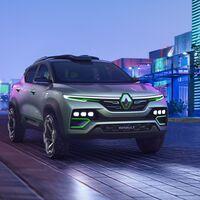El Renault Kiger es un prototipo de SUV para India con aires de todoterreno futurista pero que no suelta prenda sobre su mecánica