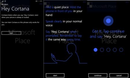 Cortana Voz