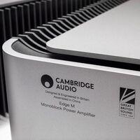 Cambridge Audio presenta su nuevo amplificador de potencia Edge M con los canales derecho e izquierdo separados