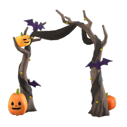 Animal Crossing New Horizons Guide Pumpkins Item Diy Icon Spooky Arch