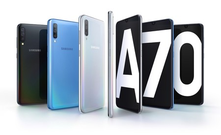 Samsung Galaxy A70 Mexico
