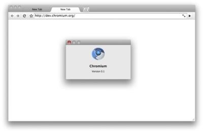 Primeras imágenes de Google Chrome para OS X