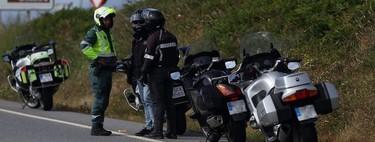 Tras las furgonetas llegan las motos camufladas: la DGT ya las está probando para multar en Galicia