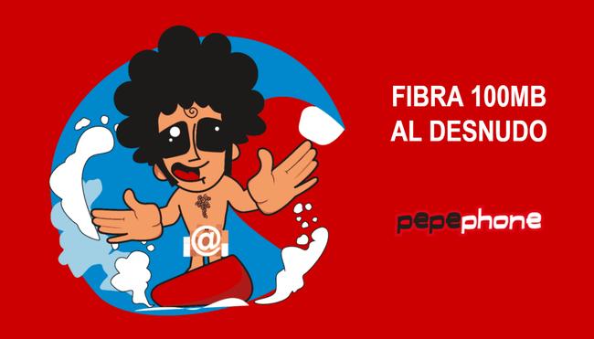 Nueva Fibra 100 Megas Pepephone