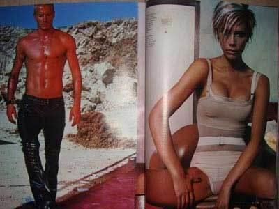 Los Beckhams en W