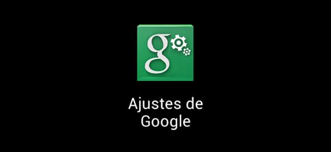 Ajustes de Google