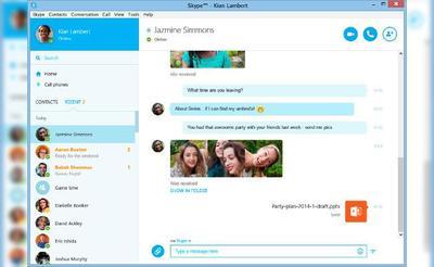 La versión final de Skype para Windows con interfaz rediseñada ya está disponible