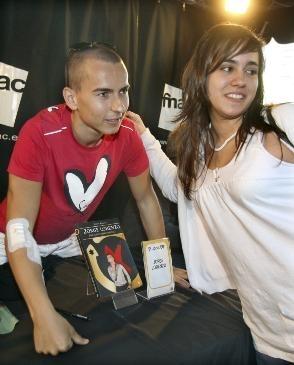 Lorenzo firmó su biografía por todo Barcelona