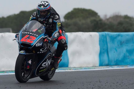 Francesco Bagnaia Jerez Test Moto2 2018