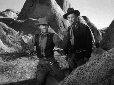 'Camino de la horca', el primer western protagonizado por Kirk Douglas