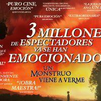 La Fiesta del Cine rompe el récord de espectadores gracias a 'Un monstruo viene a verme'