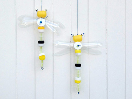 1 Diy Bottle Cap Dragonfly