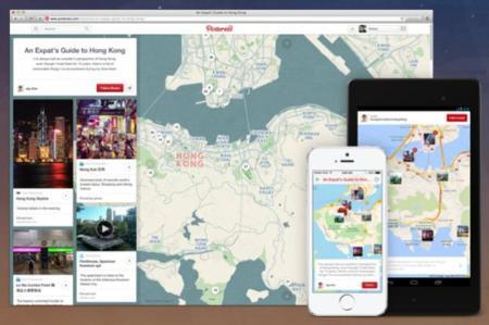 Organiza tus viajes con más comodidad que nunca con los Place Pins de Pinterest