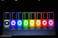 iPod nano 4G, cambio de diseño