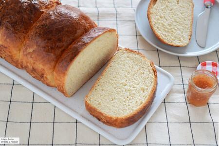 Pan de leche en molde con tang zhong