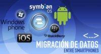 Migración de datos entre smartphones: iOS