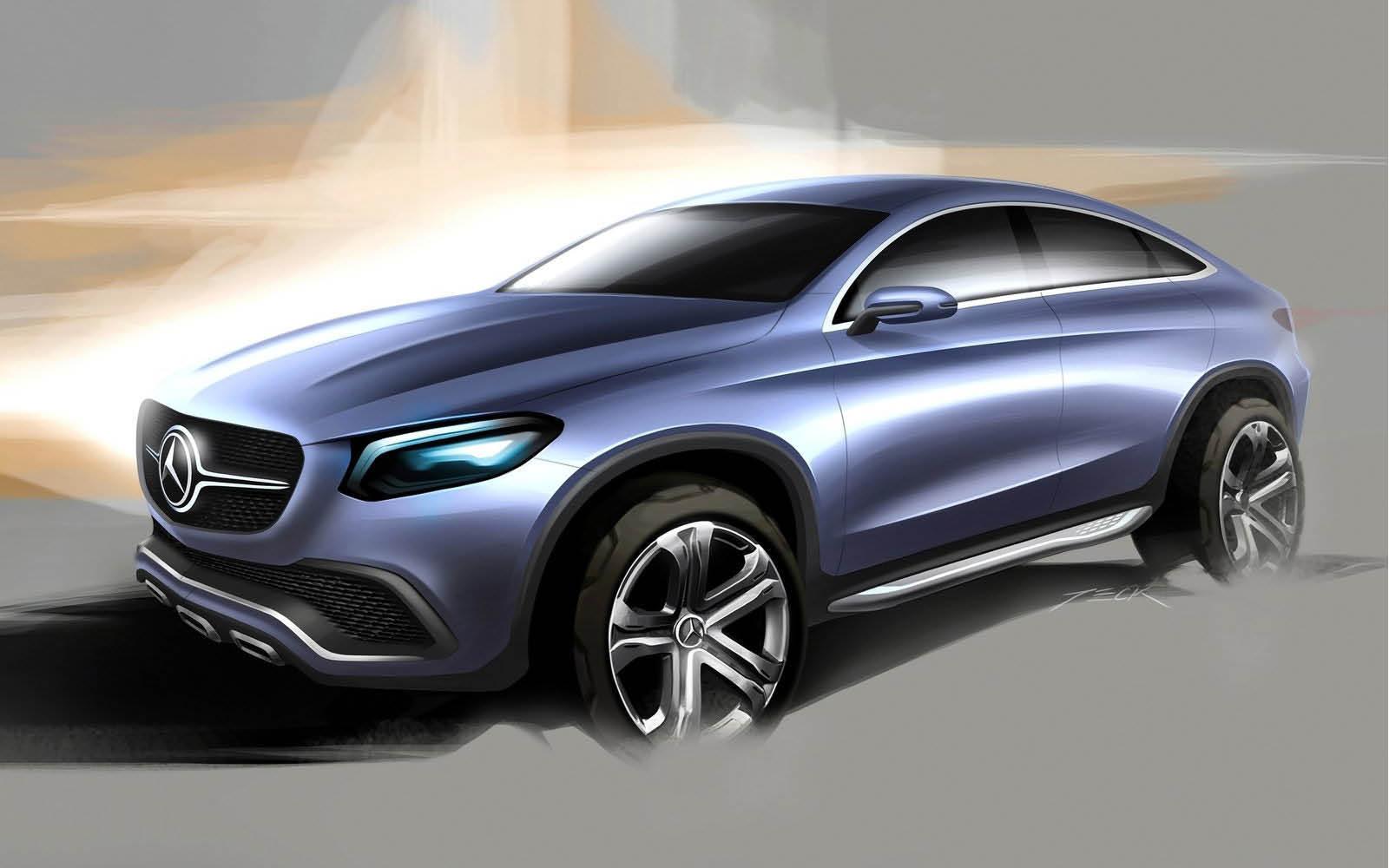 Foto de Mercedes-Benz Coupé SUV Concept (30/30)