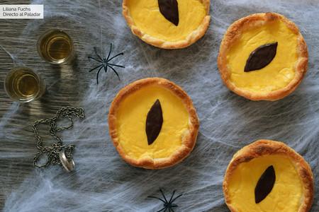 Tartaletas Ojo de Sauron: receta de Halloween para golosos frikis