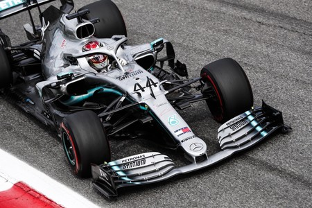 Hamilton Italia F1 2019