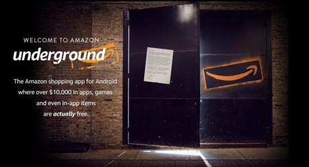 Amazon presenta Underground, su nueva tienda de aplicaciones Android... de pago pero gratis