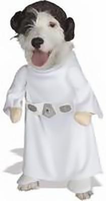 Disfraz de Princesa Leia para perritas