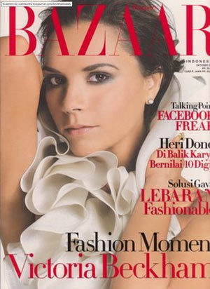 Victoria Beckham en Harper's Bazaar
