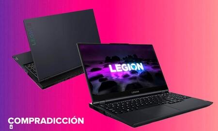 Amazon tiene nuevo precio mínimo para el Lenovo Legion 5 15ACH6H: estrena portátil gaming con gráfica RTX3060 por 1.199 euros