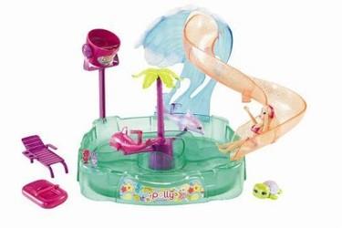 El precioso Aquaparque Mágico de Polly Pocket