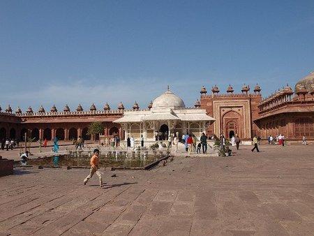 La Gran Mezquita o Jama Masjid de Fatehpur Sikri