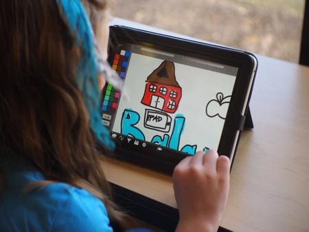 Uso de iPad en clase